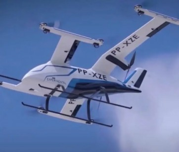 Embraer apresenta seu 'carro voador' elétrico em voo pela primeira vez